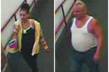 Police were looking for this man and woman suspected of stealing 262 toothbrushes from a Staten Island CVS on Aug. 22, 2015.
