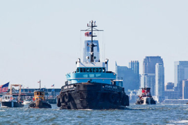 Tug boats are going to race down the Hudson River this Sunday.