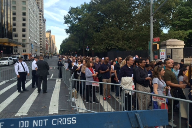 Thousands Can't Get Into Central Park as City Rushes to Add Metal Detectors