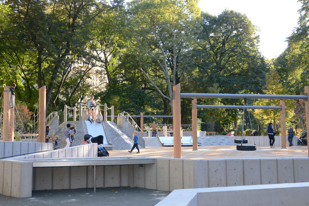 East Nd St Playground Voted Best Play Space In Central Park - Central park on east 72nd street