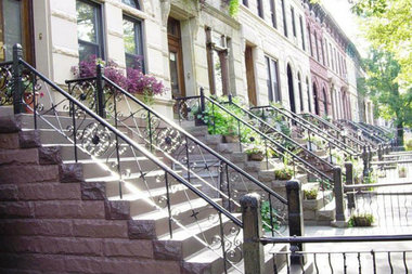 East New York and Bedford-Stuyvesant had the greatest number of at-risk properties in the borough for the city's tax lien sale, according to city figures.