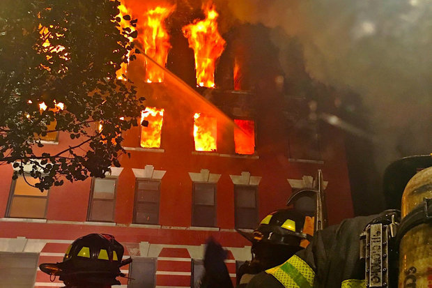 Massive Fire Destroys Chelsea Apartment Building, FDNY Says