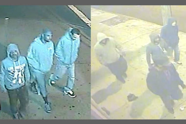 Police are hunting for four suspects wanted for robberies in Brooklyn and Queens, police said.