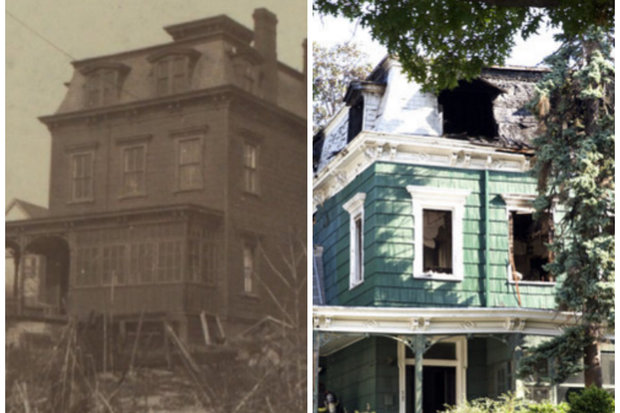 Newtown civic association fights to save historic for Elmhurst house