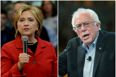 Democratic presidential candidates Hillary Clinton and Bernie Sanders are scheduled to debate in Brooklyn on April 14.