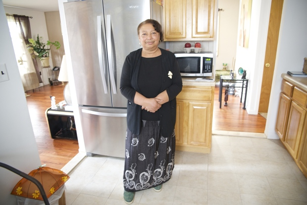 Matti Eddy's lived in her Far Rockaway house for 40 years. She moved back in June 2015 after Hurricane Sandy with help from a privately-funded city program.