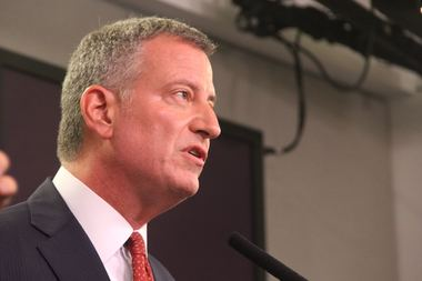 Critics of the Brooklyn Heights Library deal say de Blasio will back the plan because of his donor ties to its developers.