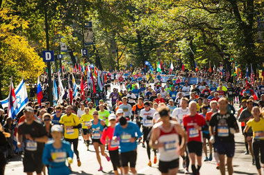 Streets in every boroughwill be closed between 9 a.m. and 6:30 p.m. Sunday for the marathon.