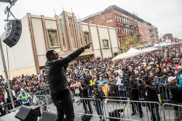 Doug E. Fresh performed at last year's Restoration Rocks outdoor music festival in Bedford-Stuyvesant. This year, Rakim is set to hit the stage on Fulton Street as part of Bed-Stuy Alive!