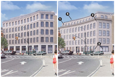 Hidrock Realty has revised plans for the condo building it wants to construct next to Park Slope's Pavilion Theater and is scheduled to present the new version to the Landmarks Preservation Commission on Oct. 20.