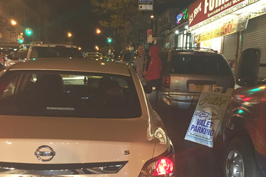 Police said the double-parking summons have increased to 9,890 year-to-date, more than any other precinct north of 59th St.
