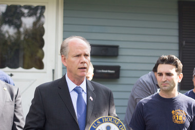 Congressman Dan Donovan's bill aimed to reform FEMA was combined with a larger bill that passed the House of Representatives.