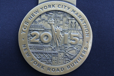 New York City Road Runners is investigating the unauthorized sale of 17 2015 New York City Marathon medals being sold on eBay for $89.99 a piece.