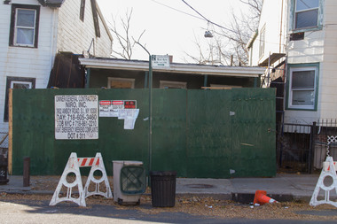 Developer Anthony Guglieri plans to demolish the abandoned home at 428 St. Marks Place to build a four-story residential unit.