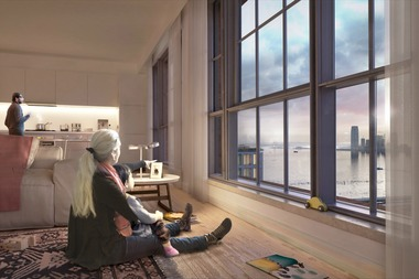 Some of the affordable units will have waterfront views.