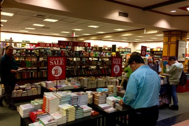 The Forest Hills Barnes & Noble is currently offering a lot of items at discounted prices.