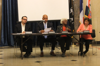 The Bronx Borough Board unanimously rejected the city's proposed zoning changes at a Thursday morning meeting.