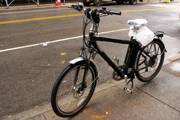 Police Seize 12 Electric Bikes During Upper West Side