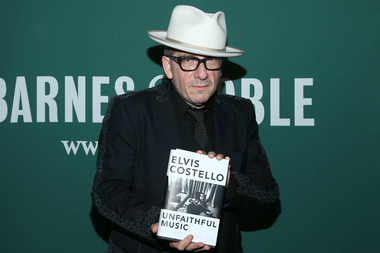 "Rock Bard Elvis Costello discusses his memoir, ""Unfaithful Music & Disappearing Ink,"" with singer-songwriter Rosanne Cash. Tickets are $25."