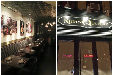 Kurry Qulture opened Saturday at 36-05 30th Ave. in Astoria