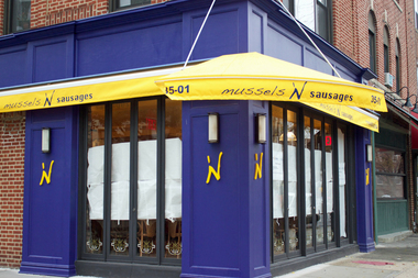 Mussels 'N Sausages is expected to open later this month at 35-01 Ditmars Blvd.