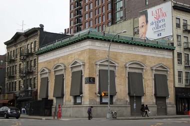 An effort is underway to landmark the Provident Loan Society building at 223-225 East Houston St.