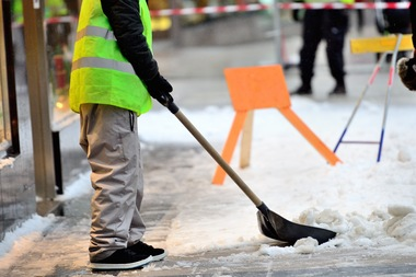 The city is looking for workers to clear crosswalks, bus stops and hydrants after big snow storms this winter.
