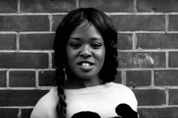 Azealia Banks, pictured here in a still from one of her music videos, was arrested outside the Up & Down club, police said.
