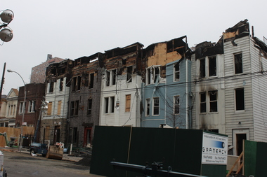 A massive fire in The Bronx on Thursday night caused severe damage to 2086 Valentine Ave. and neighboring buildings.