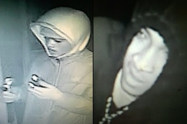 The police department identified two suspects wanted for burglarizing three restaurants in Prospect Heights and Crown Heights this fall.
