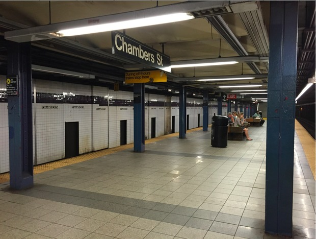 Woman Found Dead In Chambers Street Subway Station Police