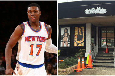 Knicks forward Cleanthony Early was shot after exiting the City Scapes Gentlemen's Club in Queens, police said.