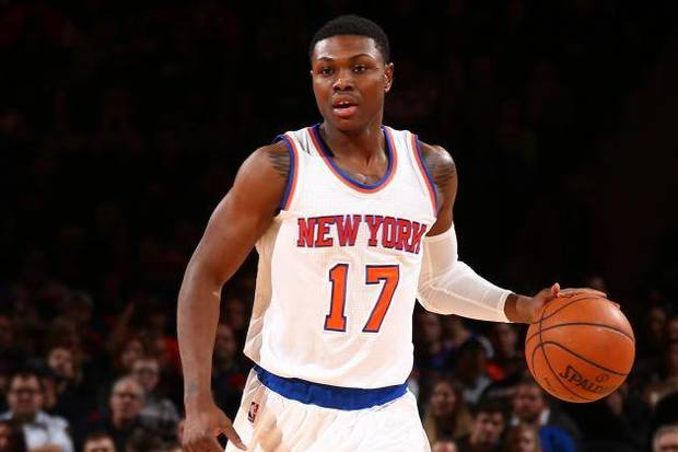 Cleanthony Early of the New York Knicks.