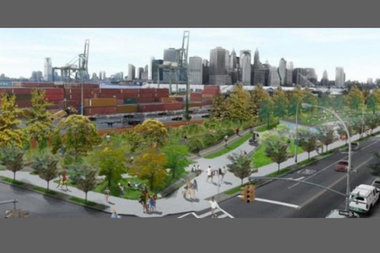 An earlier conceptual rendering of the park.