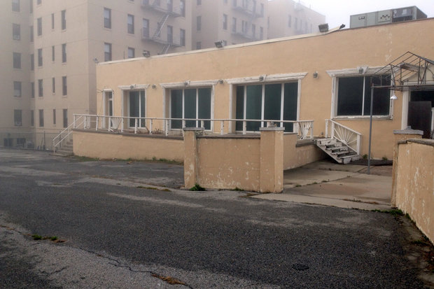 The former Beach Club closed more than a decade ago and has been empty ever since.