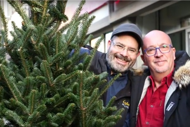 , the Upper West Side's Favorite Christmas Tree Guy - Upper West ...