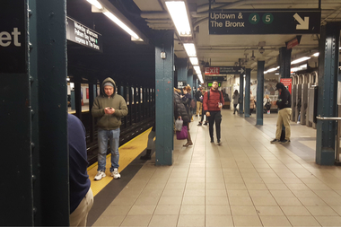 Free Wi-Fi is now available at the 86th Street subway station.