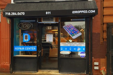 iDropped opened at 611 Flatbush Ave. on Monday.