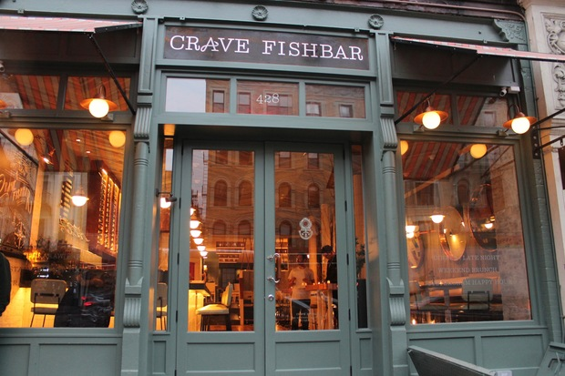 Photos crave fishbar brings a taste of montauk to for Fish bar nyc