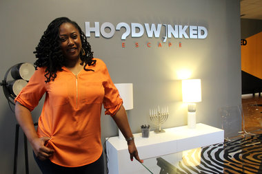 Michele Ware used to work in corporate finance before discovering escape adventures. She left her job and worked full time to develop Hoodwinked Escape.