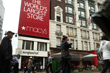 A woman has sued Macy's claiming it is running a