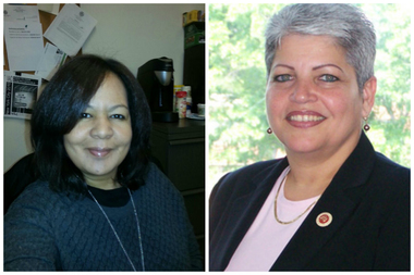 Joann Otero (L) is planning to run for Councilwoman Maria del Carmen Arroyo's (R) seat.