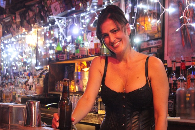 Longtime Raccoon Lodge bartender Eleni said she's hoping they'll find a new location soon.