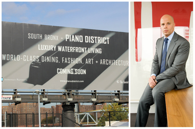 Keith Rubenstein, the developer behind the controversial Piano District billboard, said it was never meant to be offensive or rebrand the neighborhood.