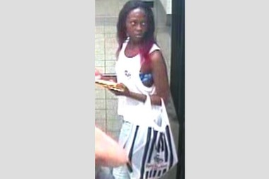 Police say this woman stole from four women across Manhattan this summer.