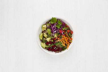 Healthy lunchers in Union Square will soon be able to snag a Wild Child salad like this one at the new Sweetgreen location on East 18th Street.