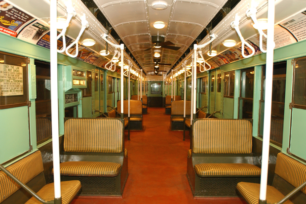 Ride In A 1930s Era Subway Car In Queens Plaza This