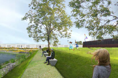 The Greenpoint Monitor Museum was awarded $599,200 to restore an area of shoreline and convert it into a public space at 56 Quay Street, according to the state's attorney general.