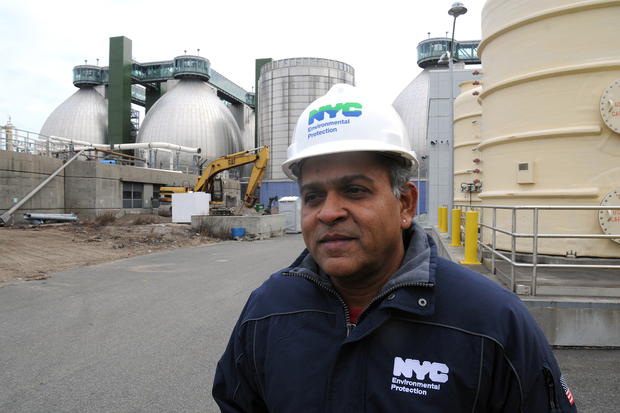 Newtown Creek Wastewater Treatment Plant is the largest such facility in the city.
