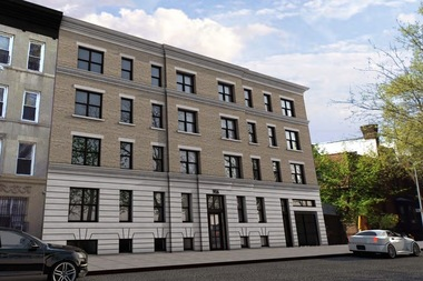 This new 22,000-square-foot residential building will replace an empty lot and garage on Prospect Place between New York and Brooklyn avenues in Crown Heights, building records show.